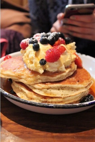 Or maybe this one, but the basis is the same PANCAKES!