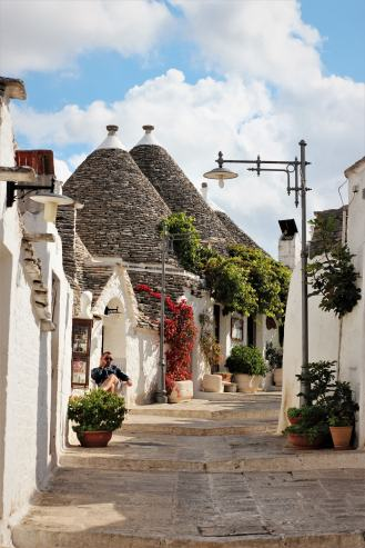 The traditional Trulli houses in Alberobello, not only a UNESCO world heritage site but also worth the trip to explore this gem!