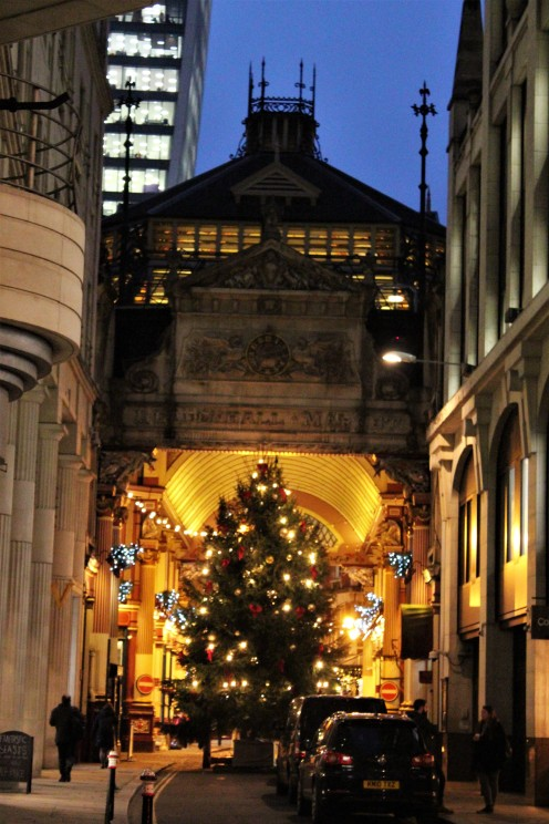 Christmas - Leadenhall Market 2