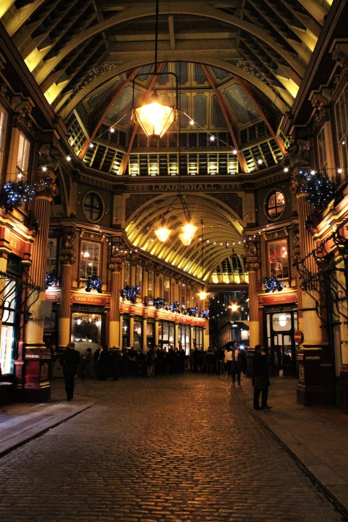 Christmas - Leadenhall Market