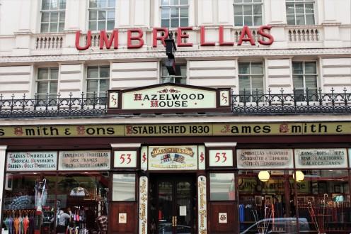 London - Umbrella Shop