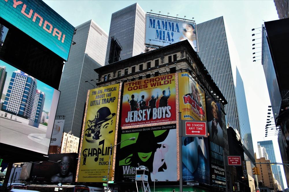 NYC - Ads Galore