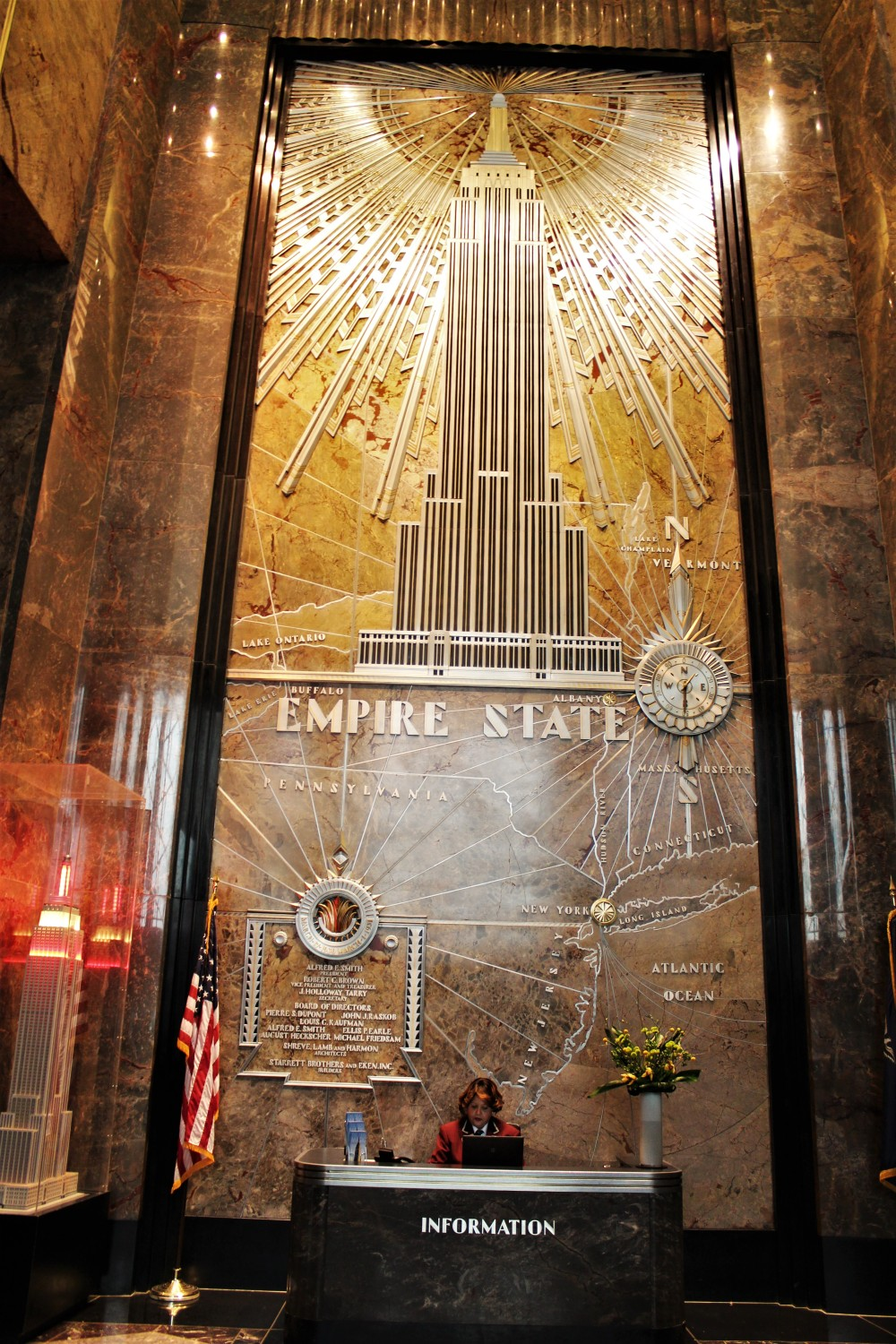 NYC - Empire State Building Reception