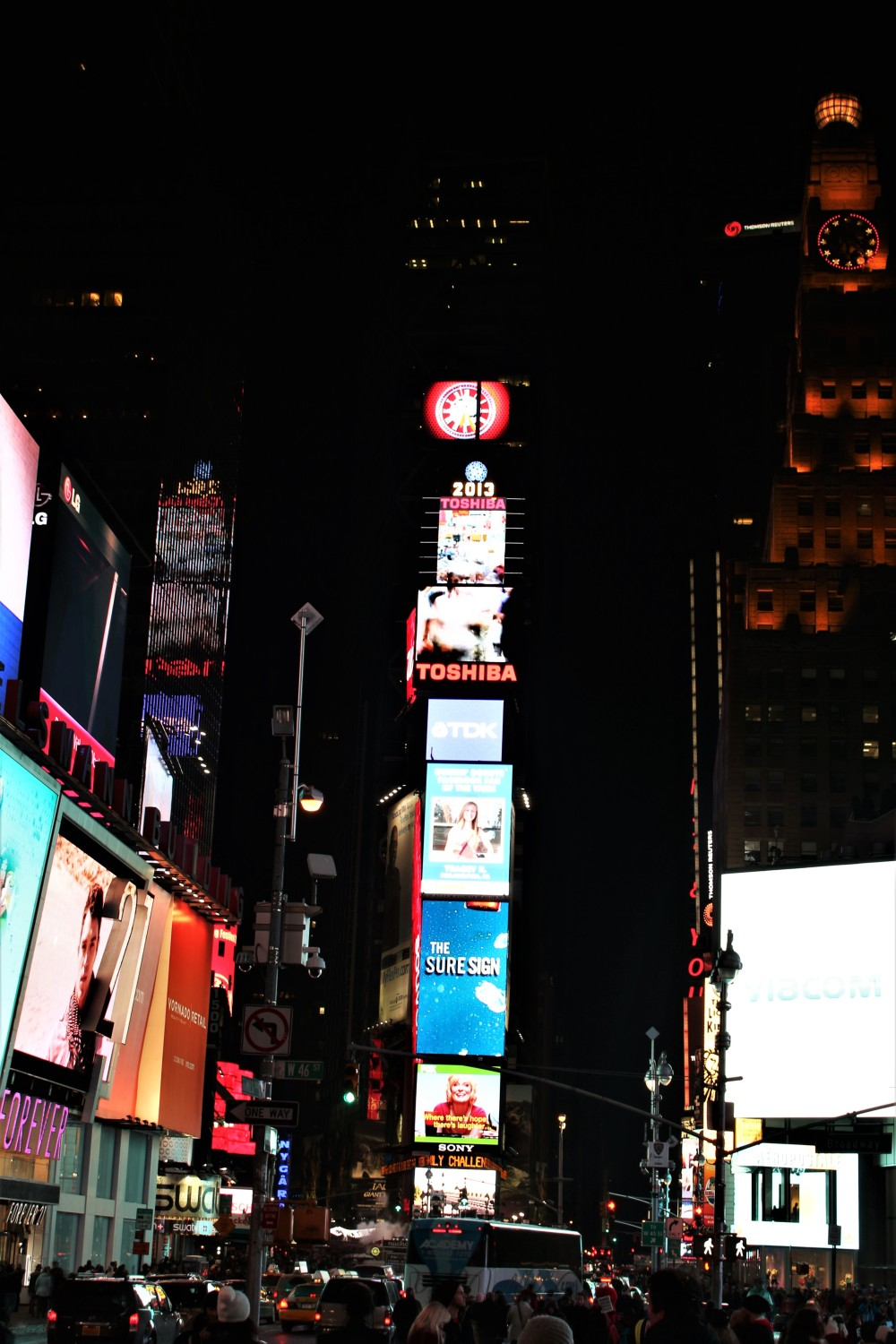 NYC - Times Square by Night