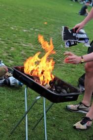 BBQ at Kralingse Bos