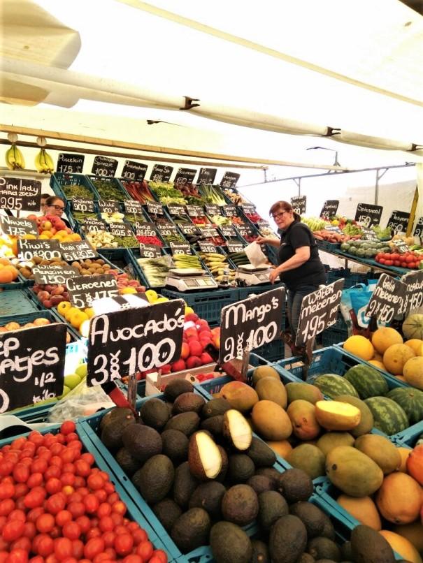 Saturday Market Stall
