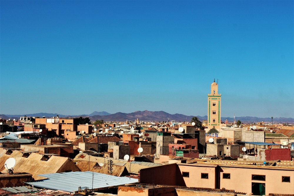 Rooftop Views Marrakech