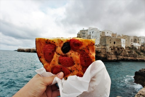 Nothing better than homemade Focaccia for lunch!