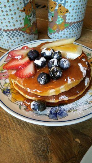 Breakfast at Green Delight, located in the well known Nieuwe Binneweg.