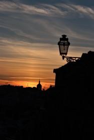 Sunset close to Rua Bica