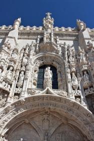 Door details of the Monestary